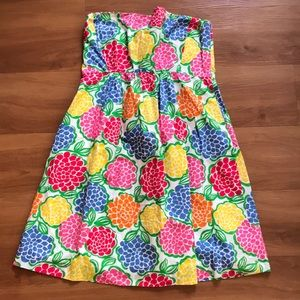Lilly Pulitzer Strapless Dress. Size 8